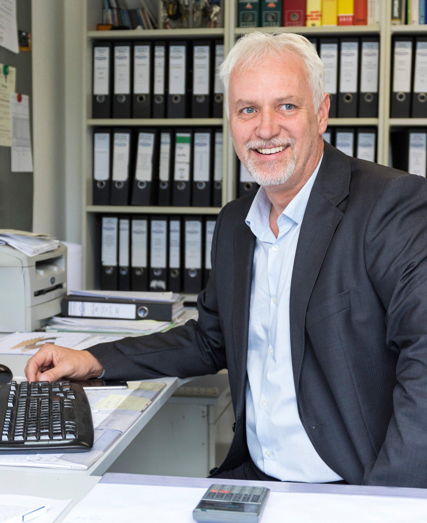 Schwabe Bau Geschäftsführer und Firmeninhaber Martin Kamp
